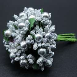 iri pıtırcık incili çiçek gümüş