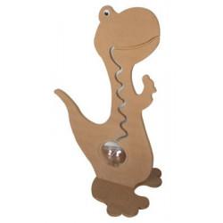 ÇG20 Ahşap Dinozor Kumbara 70 cm