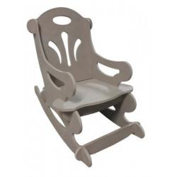 ÇG1 Sallanan Çocuk Sandalye Demonte Ahşap Obje
