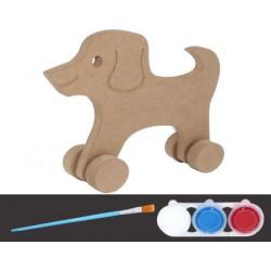 BS-7 Boyama Seti Oyuncak Köpek