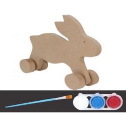 BS-4 Boyama Seti Oyuncak Tavşan