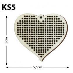 Ks5-Kalpli Delikli Kolye