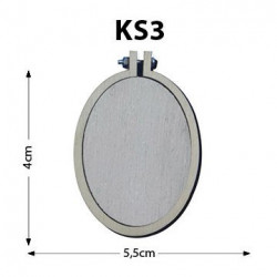 Ks3-Dikey Oval Kasnak
