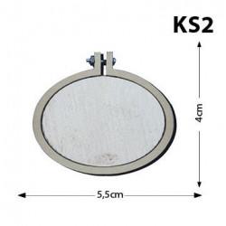 Ks2-Yatay Oval Kasnak