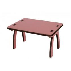 MY70 Pembe minyatür Masa