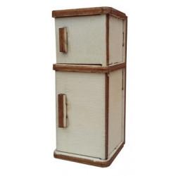 My32 Minyatür Buzdolabı Ahşap Obje