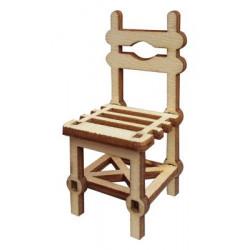 My3 Minyatür Köy Sandalyesi Ahşap Obje