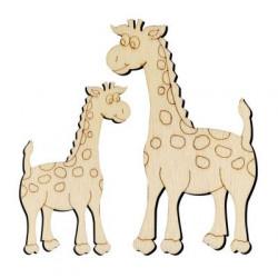 O10 Zürafa Set Paket Süs Ahşap Obje