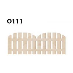 O111 Ahşap Paket Süs Çit