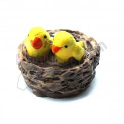 dekoratif mini kuş yuvası