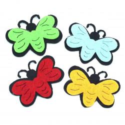 keçe kelebek (10lu)