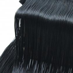 siyah saçak (3 boy seçeneği)