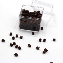 Ütü ile Yapışan Boncuk (Hama Boncuk)  - Kahverengi