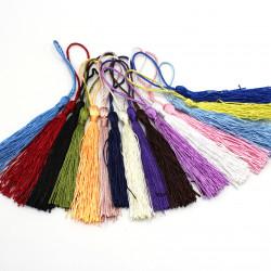 renkli polyester püskül (100 adet)
