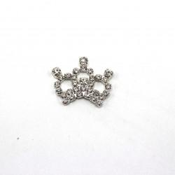 Gümüş Taşlı Kraliçe Tacı
