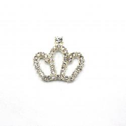 Gümüş Renk Kral Tacı