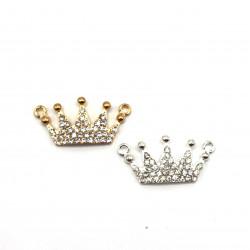 Taşlı Metal Kraliçe Tacı