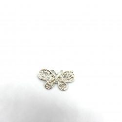 kristal taşlı kelebek