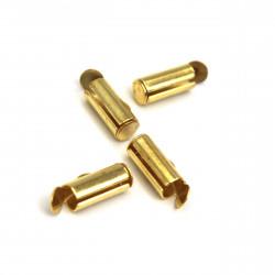 Altın Sarısı Miyuki Metal Kapama Aparatı (1 cm)