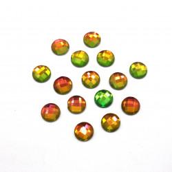 yeşil janjanlı hotfix taş(1 cm)