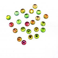yeşil janjanlı hotfix taş(0,8 cm)