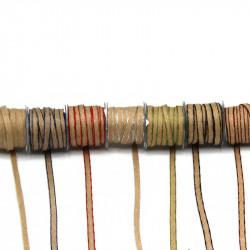 Hasır-Jüt Kurdele 7mm Renkli Kenar