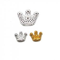 polyester figür kral tacı (15-25li paket)