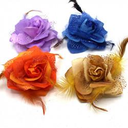 broş yapay çiçek model 1