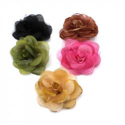 broş yapay çiçek model 3