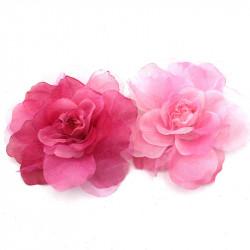 broş yapay çiçek model 5