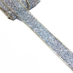 Kristal Taşlı Yapıştırma Şerit