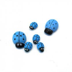 Yapışkanlı Mavi Uğur Böceği(100 Adet)