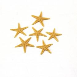 Minik Polyester Deniz Yıldızı (0,5 - 1 cm / 25 adet)