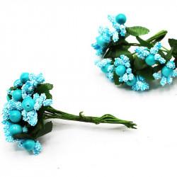 iri pıtırcık incili çiçek mavi