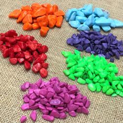 Renkli Çakıl Taşları 500mg