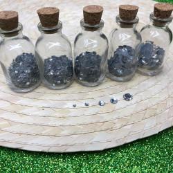 kristal hotfix yapıştrma taş beyaz (3-4-5-6-9mm)