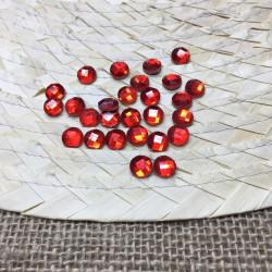 kırmızı yuvarlak hotfix taş