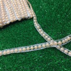 inci taşlı yapıştırma şerit yavruağzı