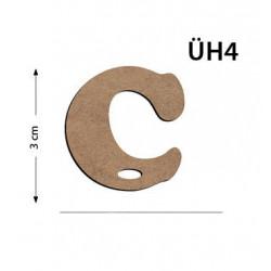 copy of ÜH1 Ahşap 3Cm A Harfi
