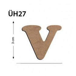 ÜH27 Ahşap 3Cm V Harfi