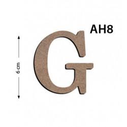 Ah8 Ahşap 6Cm G Harfi