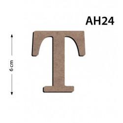 Ah24 Ahşap 6Cm T Harfi
