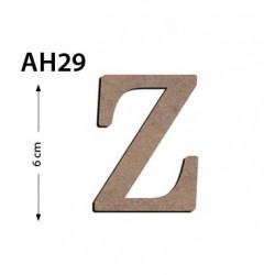 Ah29 Ahşap 6Cm Z Harfi