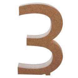 Hr55 Kalın Rakam Üç