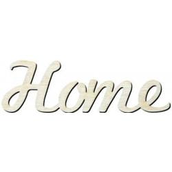 Y3 Home Yazısı Ahşap Obje