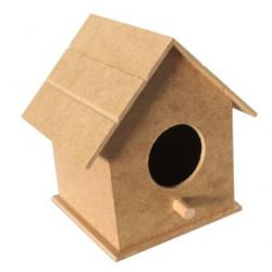 KU71 Ahşap Küçük Kuş Evi