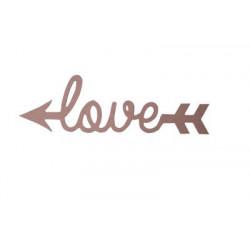 D18 Ahşap Love Yazısı