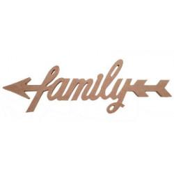 D16 Oklu Family Yazı