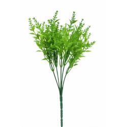 yeşil yapay bitki