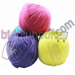 amigurumi ipi (14 farklı renk seçeneği)